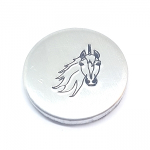 Unicorn metal design stamp metal punches
