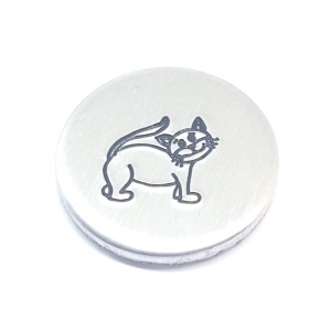 Cat metal design stamp metal punches