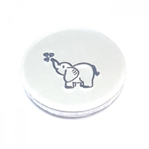 Elephant metal design stamp metal punch