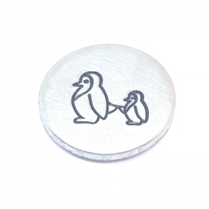 Penguin metal design stamps metal punches