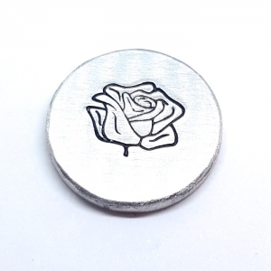 rose metal design punch